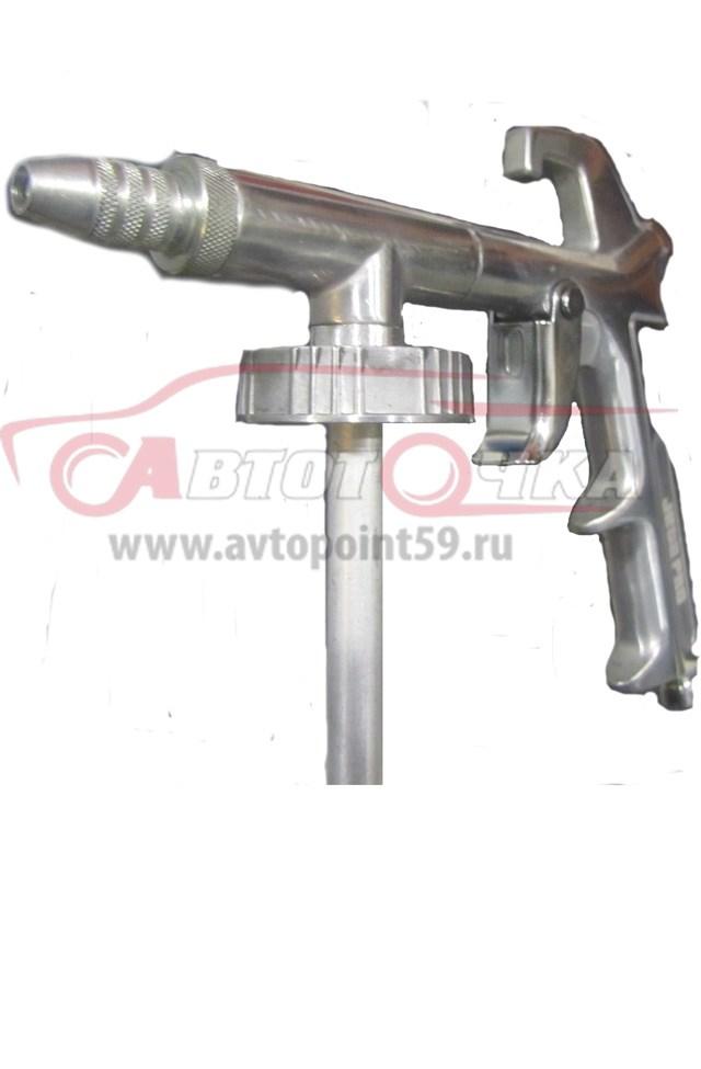 Антигравийный пистолет для нанесения сверхпрочного полиуретанового покрытия ТИТАН