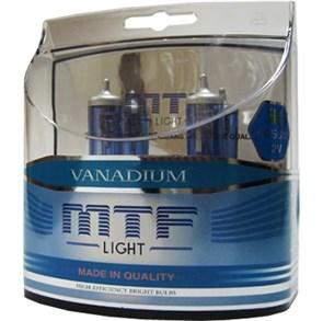 Автолампы  H4 12V 55w  Vanadium 5000К MTF