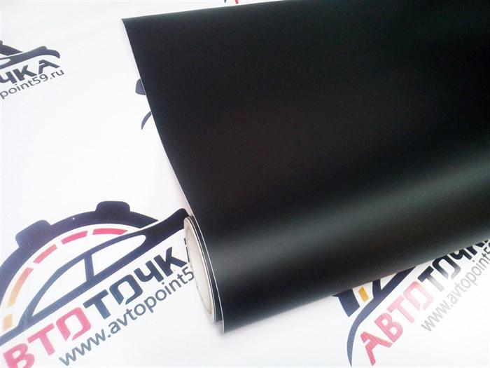 Черная матовая виниловая пленка - фото 10217