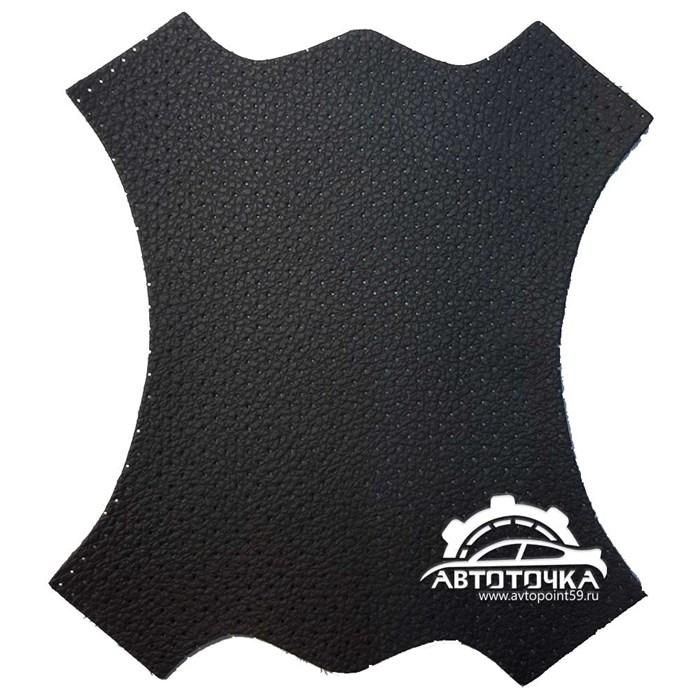 Экокожа Dakota черная перфорированная - фото 11301