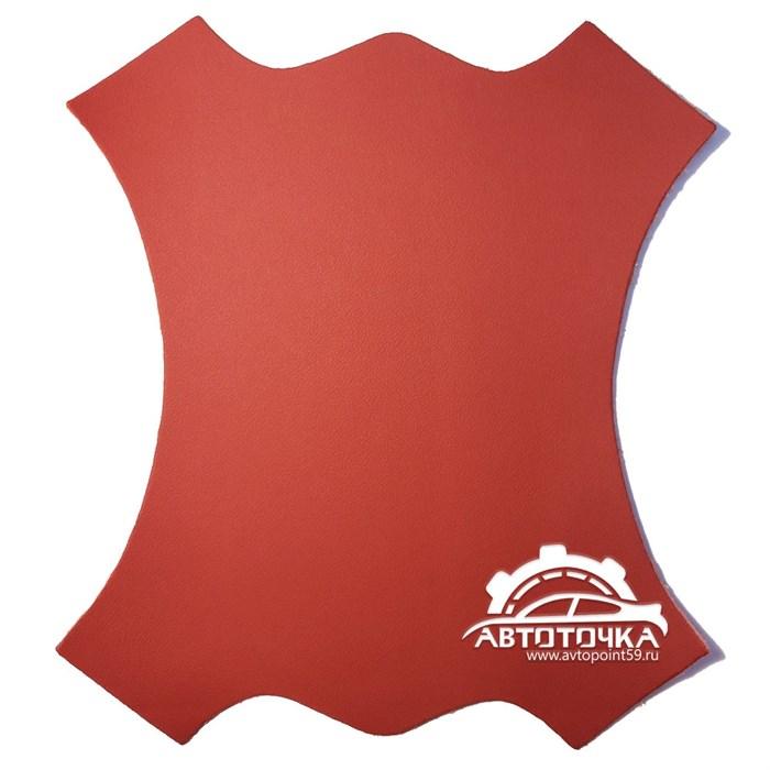 фото экокожа nappa красная