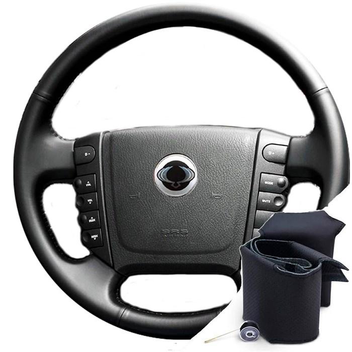 Оплетка на руль на Санг Енг Рекстон - фото