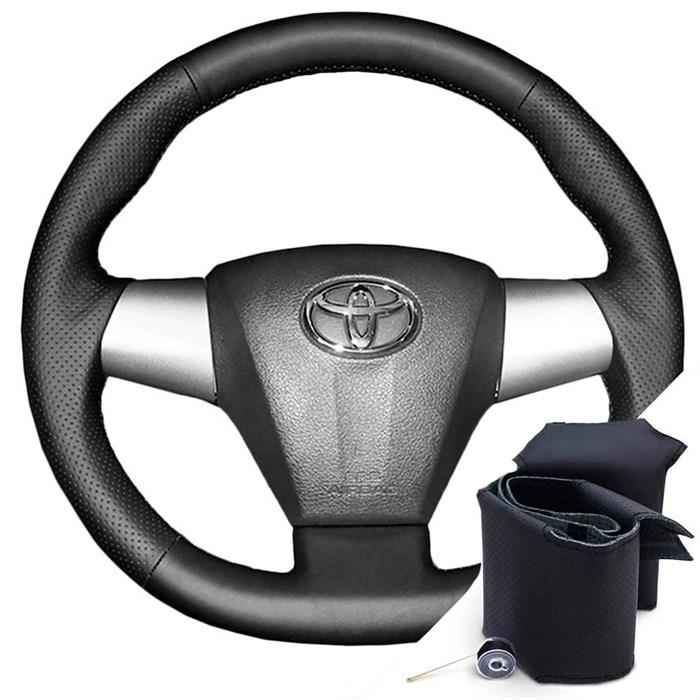 Оплетка на руле Тойота Королла с 2010-2013 г.в. - фото