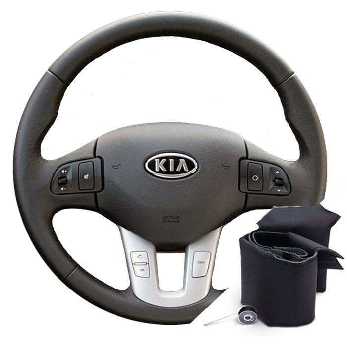 Оплетка на руль Киа Сид 2010-2012- фото
