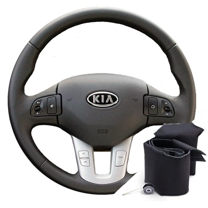 Оплетка на руль Киа Спортейдж 3 - фото