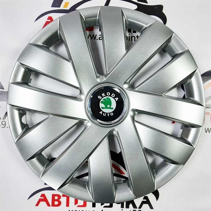Колпаки на колеса Шкода Октавия А5 R15 SKS-Teorin 15315  - фото