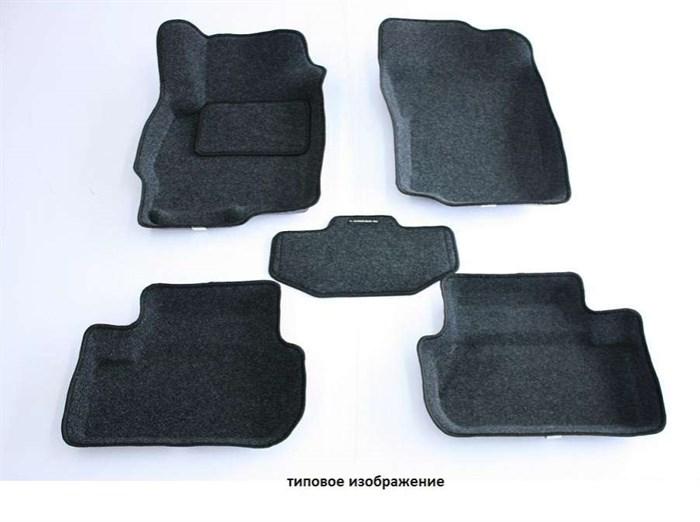 Ворсовые коврики на Хендай Солярис 2 - фото