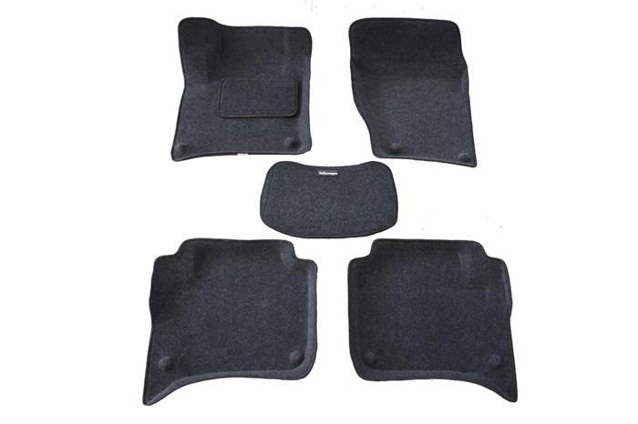 Ворсовые коврики 3D для Фольксваген Туарег II - фото