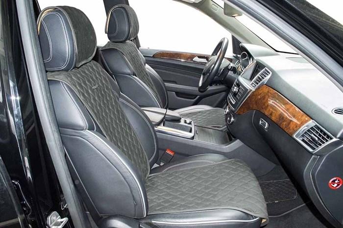серые накидки TARGET на 2 передних сидения - фото
