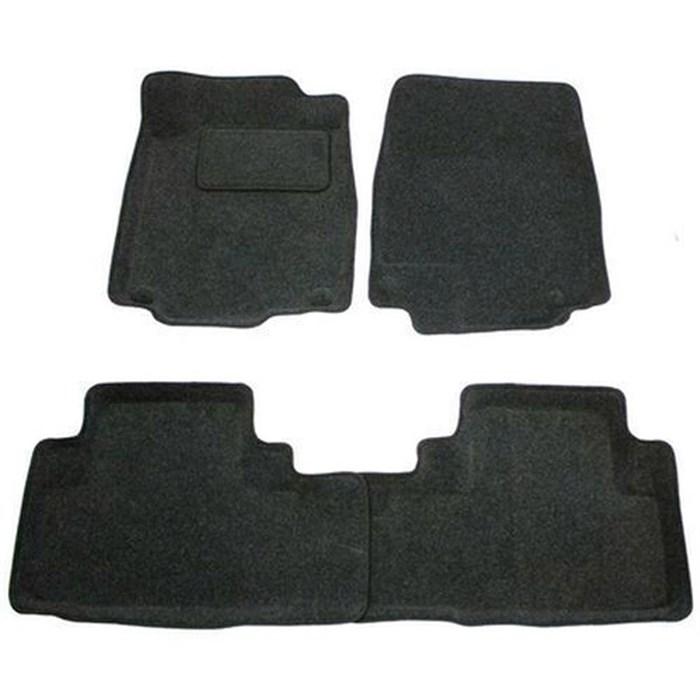 Ворсовые коврики 3D для Хонда СРВ 5 - фото