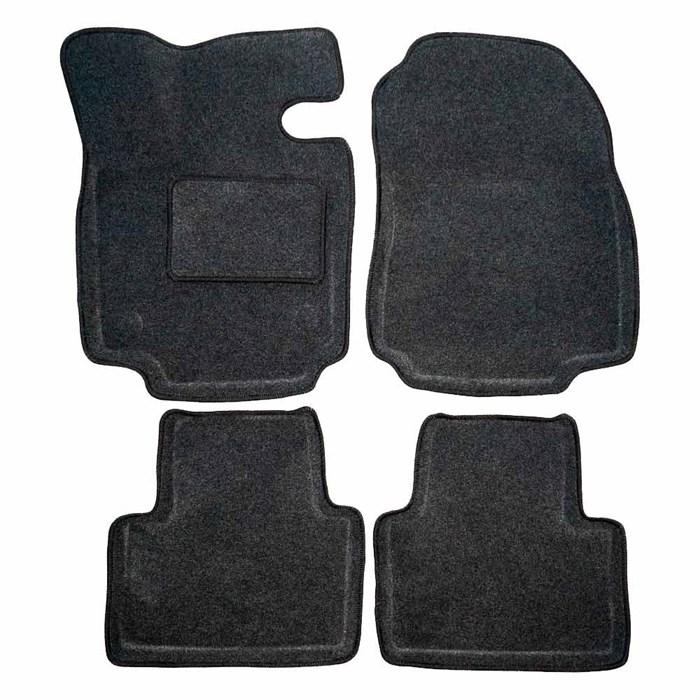 Ворсовые коврики 3D для Тойота Рав 4 V - фото