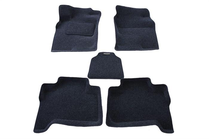 Ворсовые коврики 3D для Toyota Land Cruiser Prado 120 - фото