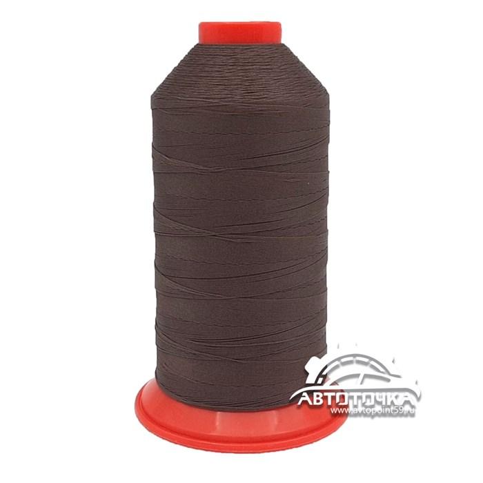 Нитки Polyart 20 1500 (8353) темно-коричневый - фото