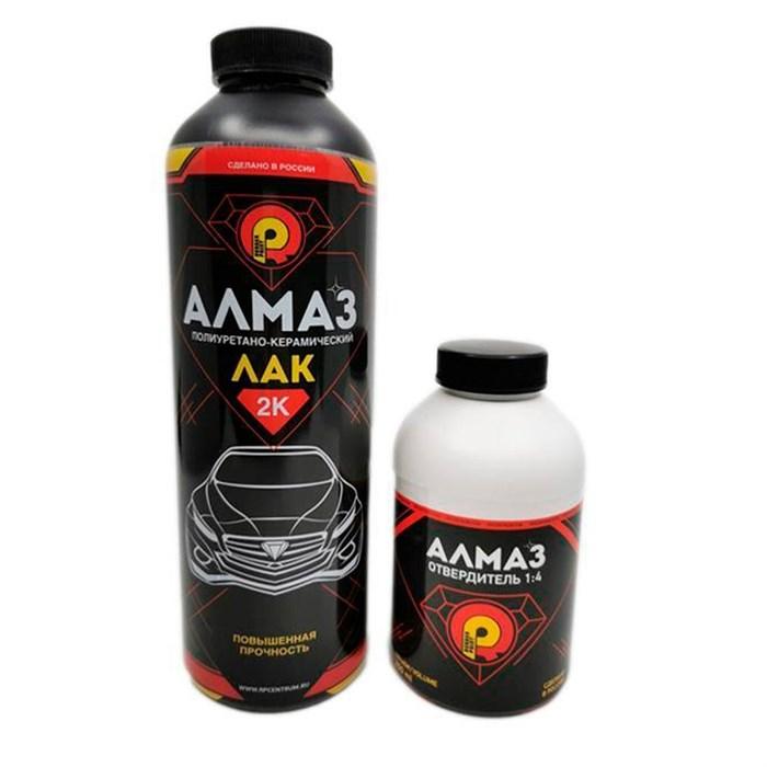 Полиуретано-керамический 2К лак АЛМАЗ - матовый - фото