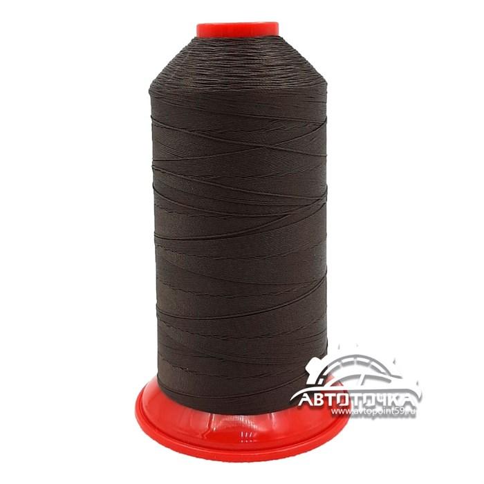 Нитки Polyart 20 1500 (3910) темно-коричневый - фото