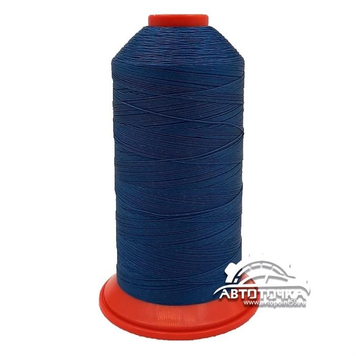 Нитки Polyart 40 (6681) темно-синий - фото