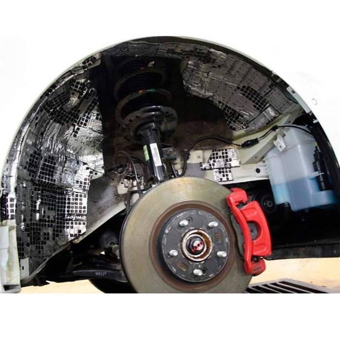 Набор шумоизоляции арок автомобиля «Бюджетный» - фото