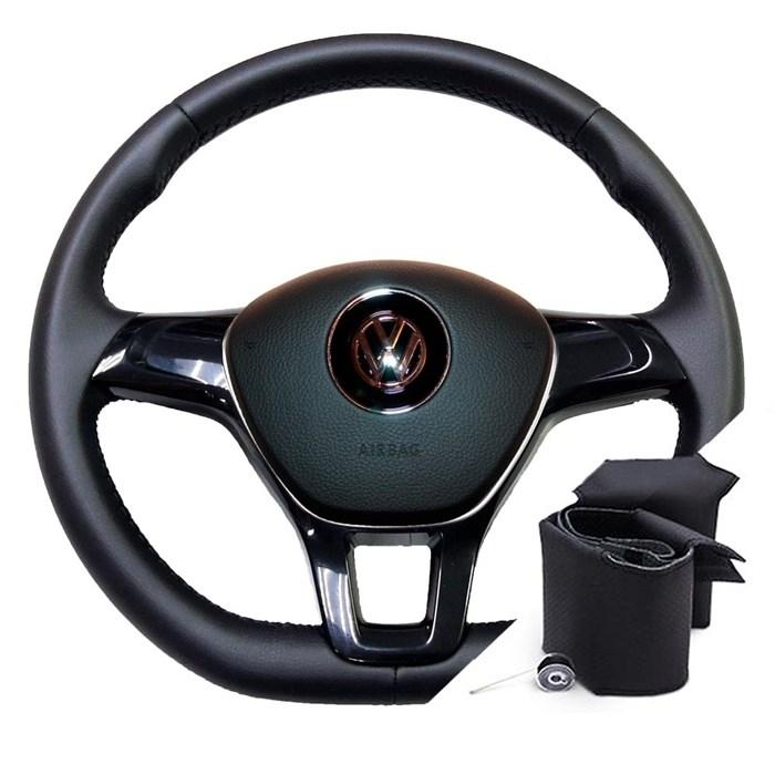 Оплетка на руле Фольксваген Гольф 7 до 2012-2019 - фото