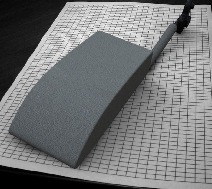 Подлокотник Лада Калина (серый, ткань) - фото 3827