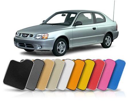 Коврики в салон Hyundai Accent II 2000-2012 (Хендай акцент) - фото 5891