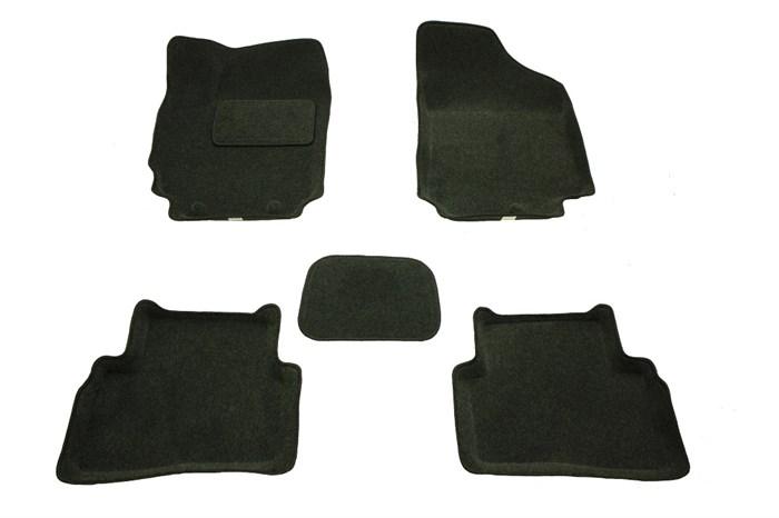 Ворсовые коврики 3D для Хендай Крета - фото