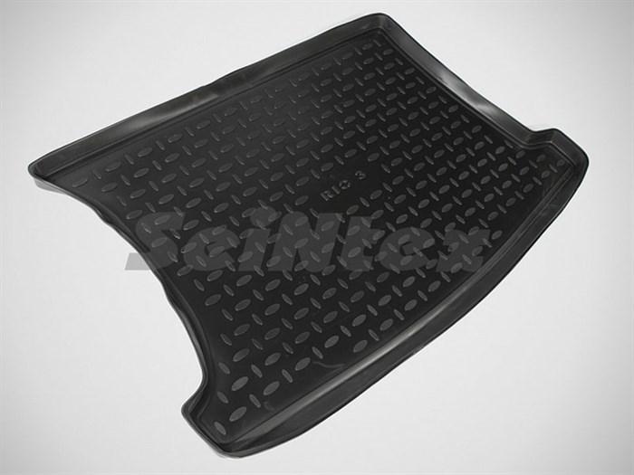 резиновый коврик в багажник Киа Рио 3 хэтчбэк - фото