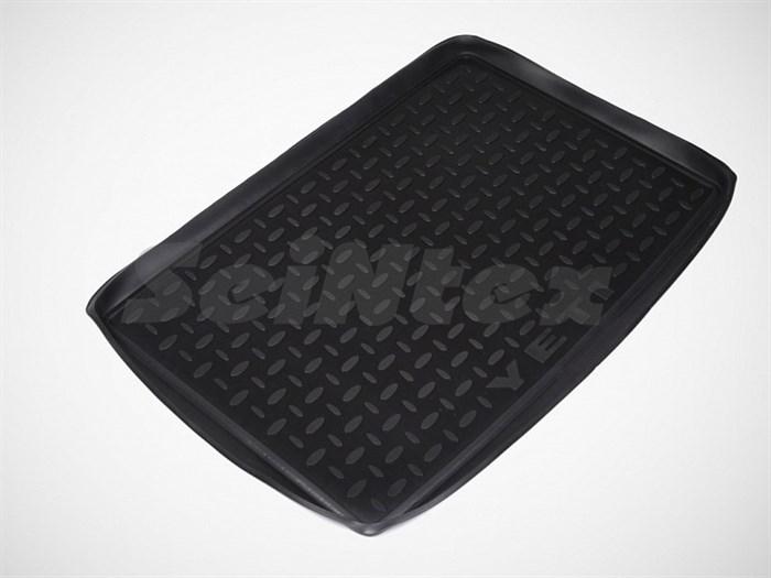 Резиновый коврик в багажник для Шкода Йети - фото