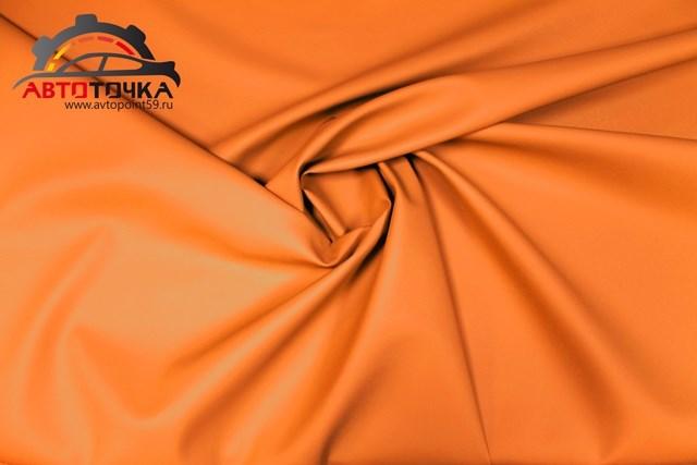 Экокожа Орегон оранжевая - фото 9379