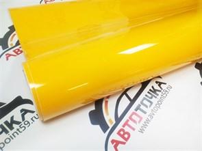 Желтая виниловая пленка