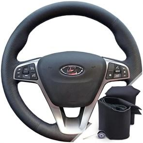 Оплетка на руль из экокожи Altona Лада Xray