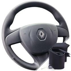 Оплетка на руль из экокожи Altona Renault Logan II