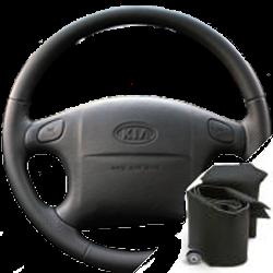 Оплетка на руль из экокожи Altona Kia Spectra 2004-2011