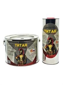Фото краски титан профи 6кг черная