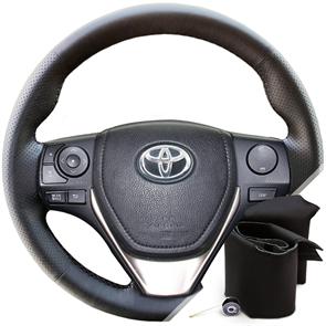 Оплетка на руль Toyota Corolla XI 2012-н.в. из экокожи Altona