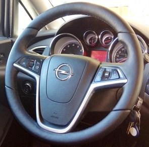 Оплетка на руль из натуральной кожи Opel Meriva B 2010-2017