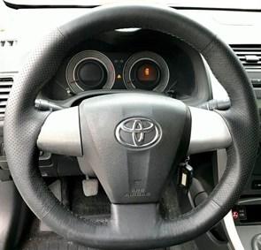 Оплетка на руль из натуральной кожи Toyota RAV 4 III Рестайлинг (2010-2014)