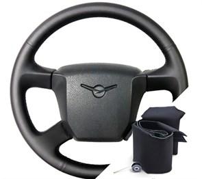 Оплетка на руле УАЗ Патриот 2012-2017 г.в. - фото