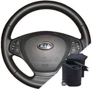 Оплетка на руле Киа Сид 2007-2010 - фото