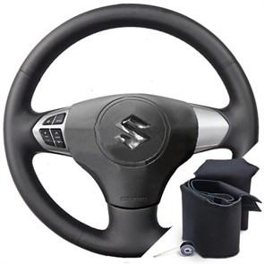 Оплетка на руль из экокожи Altona для Suzuki Grand Vitara 2007-2013 г.в.