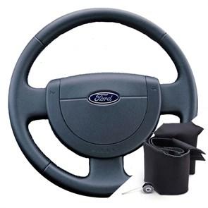 Оплетка на руле Форд Фиеста - фото