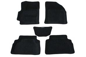 Ворсовые коврики 3D для Шевроле Лачетти - фото