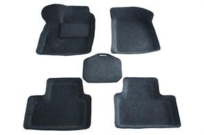 Ворсовые коврики 3D для Лада Приора хэтчбек - фото