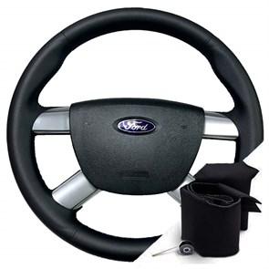 Оплетка на руле Форд C-MAX - фото