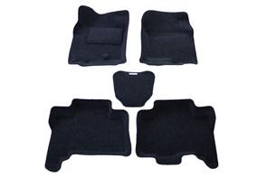 Ворсовые коврики 3D для Тойота Ленд Крузер Прадо 150 - фото