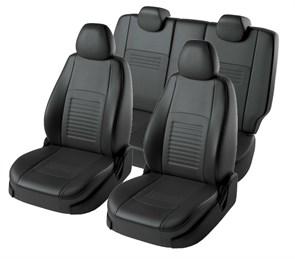 Черные чехлы Lord AutoFashion на Форд Фокус 3 - фото