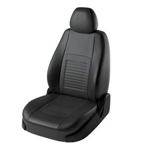 фото черных чехлов Lord AutoFashion на Toyota Rav 4