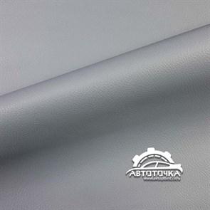 Светло-серая термокожа текстурная  1мм- фото