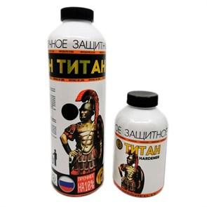 Краска титан 1кг черная - фото