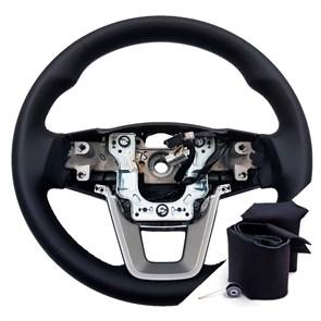 Оплетка на руле Хендай ix25 - фото