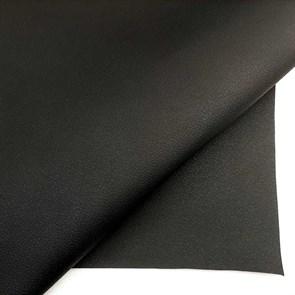 экокожа Dakota черная на ткани - фото